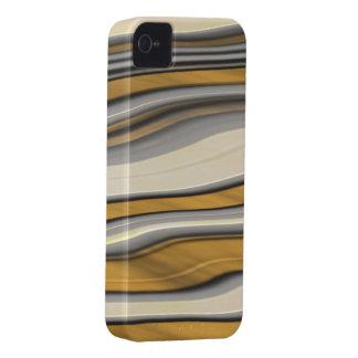 Golden Stripes #1c Case-Mate iPhone 4 Case