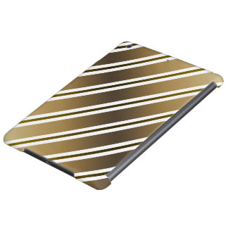 Golden stripes cover for iPad air