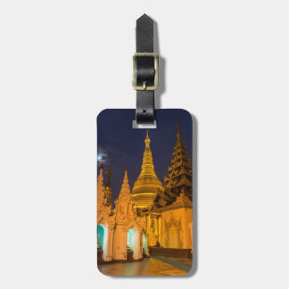 Golden Stupa And Temples Luggage Tag