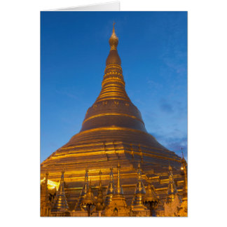 Golden Stupa Pagoga Card