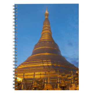 Golden Stupa Pagoga Notebook