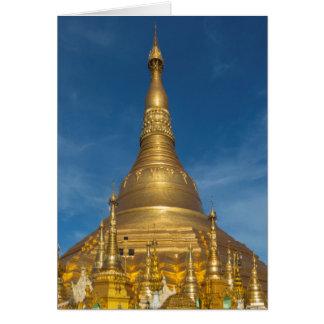 Golden Stupa Temple Card