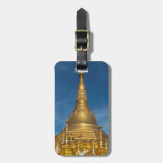 Golden Stupa Temple Luggage Tag