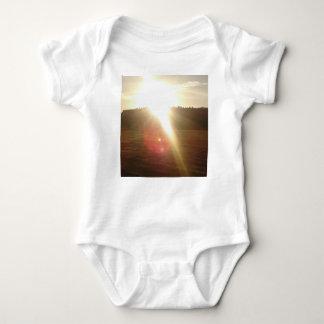 Golden Sun 3 Baby Bodysuit