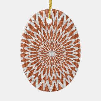 GOLDEN Sun Flower CHAKRA LEAF GRAPHIC ART GIFTS Ornament