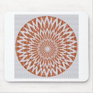 GOLDEN Sun Flower CHAKRA LEAF GRAPHIC ART GIFTS Mouse Pads