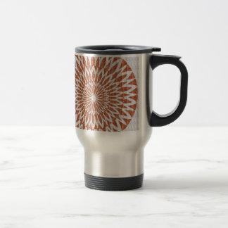 GOLDEN Sun Flower CHAKRA LEAF GRAPHIC ART GIFTS Coffee Mug