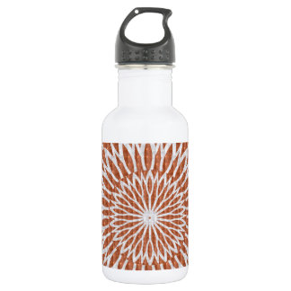 GOLDEN Sun Flower CHAKRA LEAF GRAPHIC ART 532 Ml Water Bottle