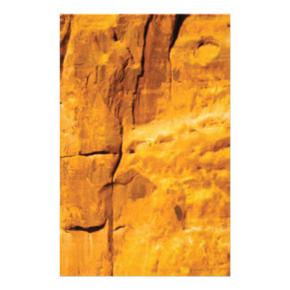 golden sun kissed stone stationery