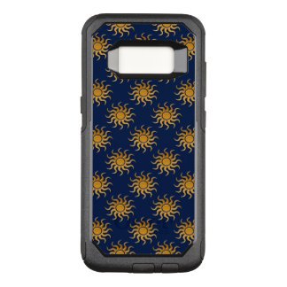 Golden Sun Pattern by Shirley Taylor OtterBox Commuter Samsung Galaxy S8 Case