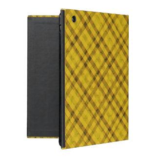 Golden Sun Plaid - Custom iPad Case