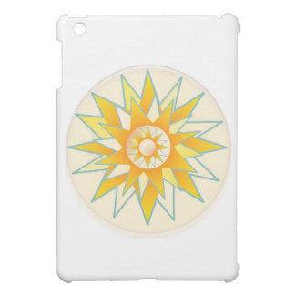 Golden Sun Shine Flower iPad Mini Cover