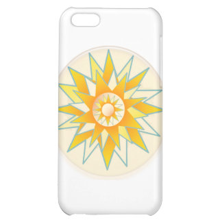 Golden Sun Shine Flower iPhone 5C Covers