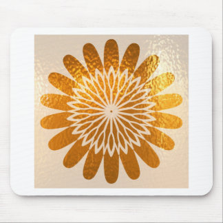 Golden Sunflower ART decoration Mouse Pad
