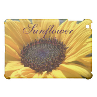 Golden Sunflower iPad Mini Cases