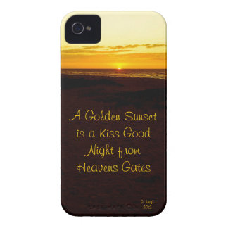 Golden Sunset iPhone 4 Cover