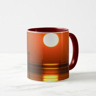 Golden Sunset His Palette Mug