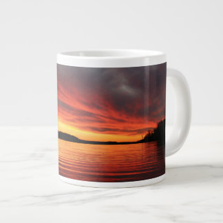 Golden Sunset Large Coffee Mug