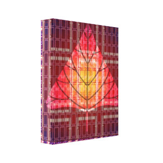 Golden Sunset Light Energy Canvas Prints