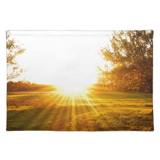 Golden Sunset on the Island Placemat