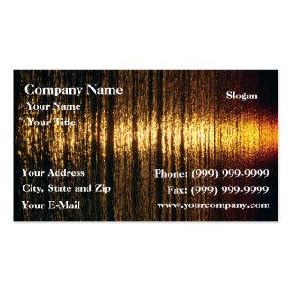 Golden surface business card template