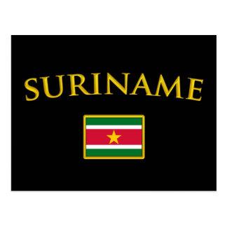 Golden Suriname Postcard