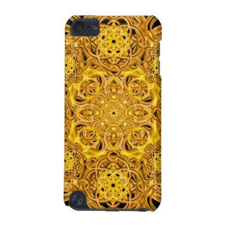Golden Swirls Mandala iPod Touch 5G Covers