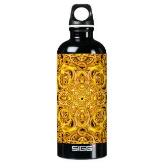 Golden Swirls Mandala SIGG Traveller 0.6L Water Bottle