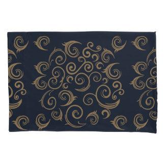 Golden Swirls Pillowcase