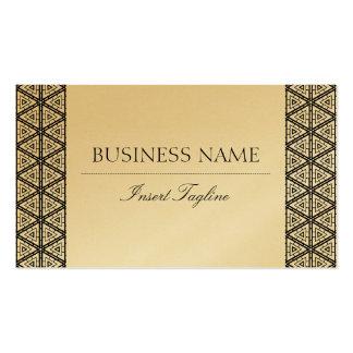 Golden Tagline Pack Of Standard Business Cards