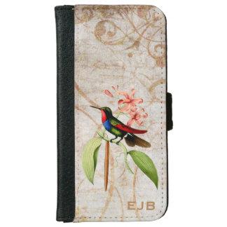 Golden Tailed Sapphire Hummingbird iPhone 6 Wallet Case