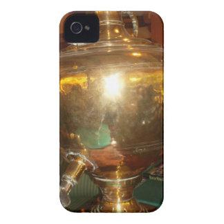 Golden tea Pot iPhone 4 Case