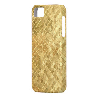 Golden texture barely there iPhone 5 case