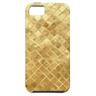 Golden texture design tough iPhone 5 case