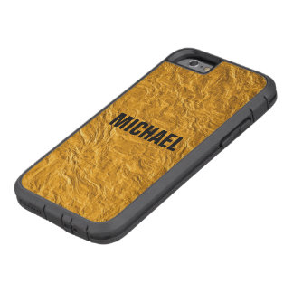 Golden texture tough xtreme iPhone 6 case
