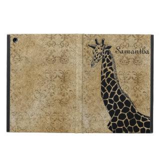 Golden Textured Giraffe II - iPad Air Case