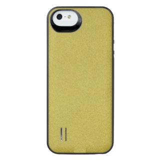 Golden Textured iPhone SE/5/5s Battery Case