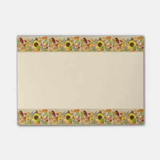 Golden Thanksgiving Post-it® Notes