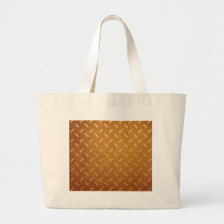 Golden Thanksgiving with Wheat Seed Heads Large Tote Bag