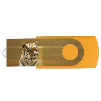 Golden Tiger USB Flash Drive