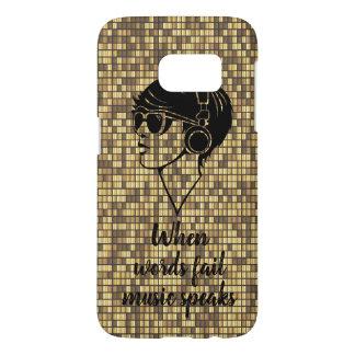 Golden Tiles Phone case