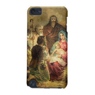 Golden Tones Vintage Nativity Scene iPod Touch (5th Generation) Case