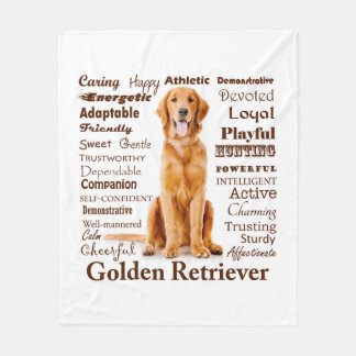 Golden Traits Fleece Blanket