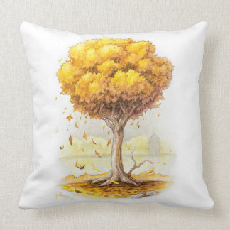 Golden Tranquility Cushion
