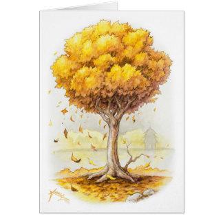 Golden Tranquillity Card