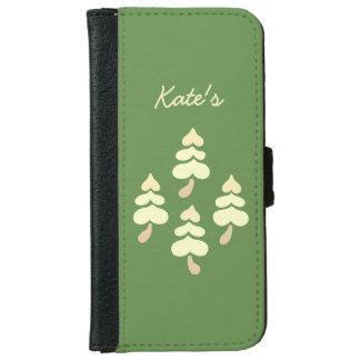 Golden Trees iPhone 6 Wallet Case
