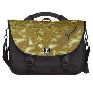 Golden Triangles Commuter Bag