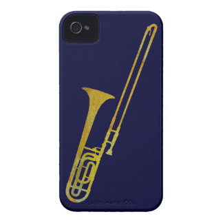 Golden Trombone iPhone 4 Cases