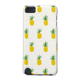 Golden Tropical Pineapples iPod Touch 5G Covers