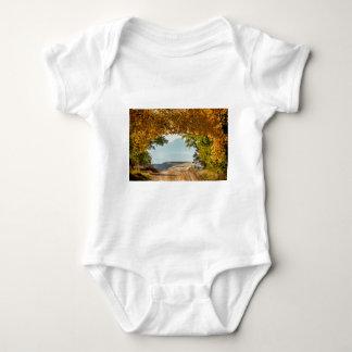 Golden Tunnel Of Love Baby Bodysuit